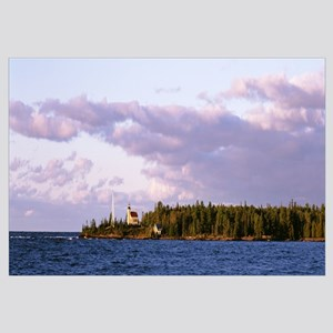 Lighthouse 1866 Lake Superior Copper Harbor Keween