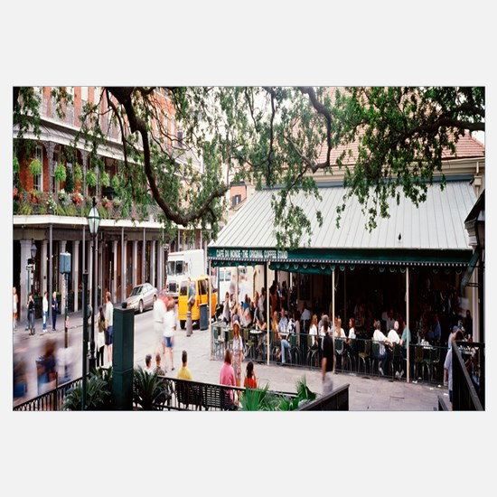 Louisiana, New Orleans, French Quarter, Cafe Du Mo