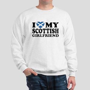 I Love My Scottish Girlfriend Sweatshirt