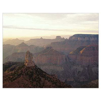 Arizona, Grand Canyon National Park, High angle vi Poster