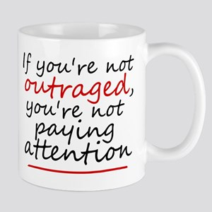 'Outraged' 11 oz Ceramic Mug