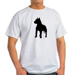 Pit Bull Terrier Silhouette Light T-Shirt