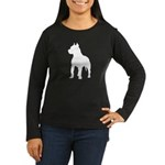 Pit Bull Terrier Women's Long Sleeve Dark T-Shirt