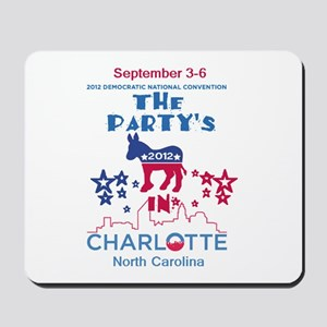 Democratic Convention Mousepad