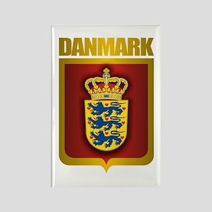 """Danish Gold"" Rectangle Magnet"