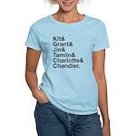 Brightling Characters - Black Font T-Shirt