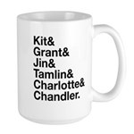 Brightling Characters - Black Font Mugs