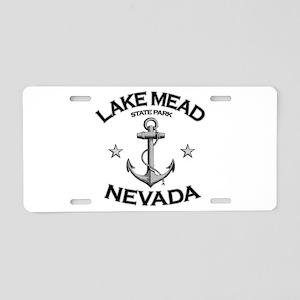 Lake Mead State Park, Nevada Aluminum License Plat