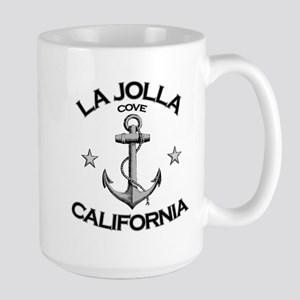 La Jolla Cove, California Large Mug