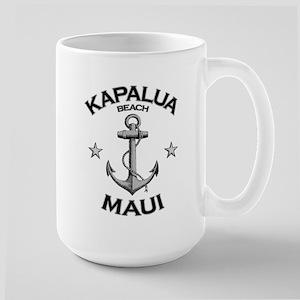 Kapalua Beach, Maui Large Mug