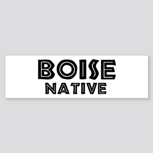 Boise Native Bumper Sticker
