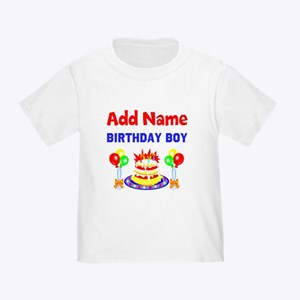 PERSONALIZE THIS Toddler T-Shirt