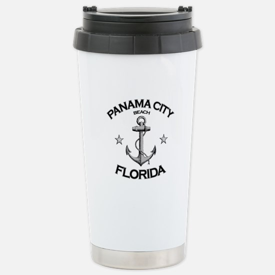Panama City Beach, Florida Stainless Steel Travel