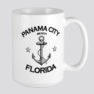 Panama City Beach, Florida Large Mug