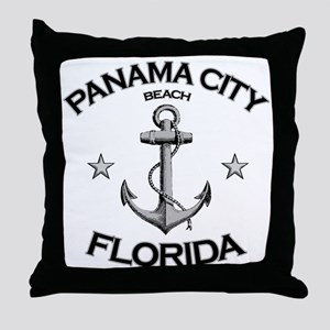 Panama City Beach, Florida Throw Pillow
