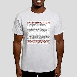 Top 10 Countdown 911 Ash Grey T-Shirt