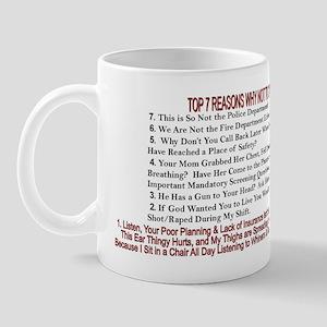 Top 7 Countdown 911 Mug