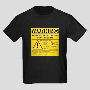 Kids Dark T-Shirt (Multiple Allergies)
