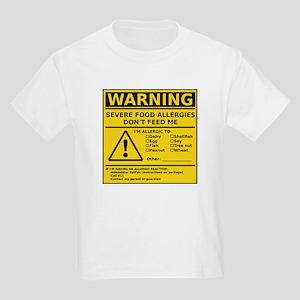 Kids Light T-Shirt (Multiple Allergies)