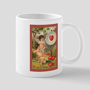 Cupids Heart Target Mug