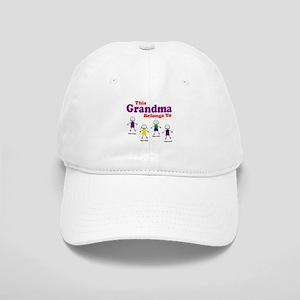 Personalized Grandma 4 kids Cap