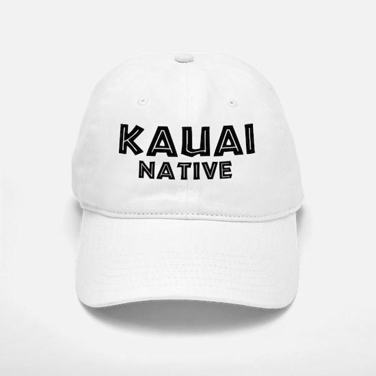 Kauai Native Baseball Baseball Cap