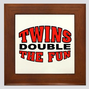 DOUBLE FUN Framed Tile