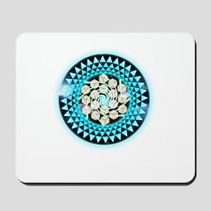 Metatrons Cube Crop-Circle Mousepad