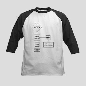 Prayer Flow Chart Kids Baseball Jersey