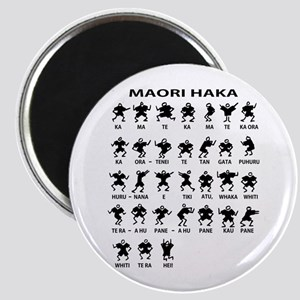 Maori Haka Magnet