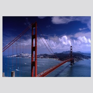 Bridge over a river, Golden Gate Bridge, San Franc