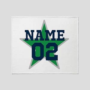 Sports Star Throw Blanket
