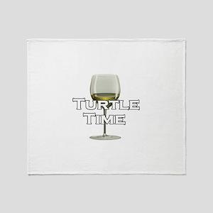 Turtle Time Throw Blanket