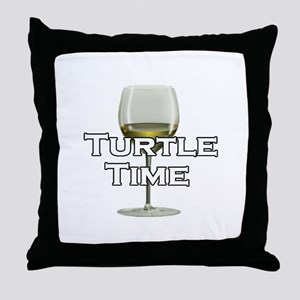Turtle Time Throw Pillow