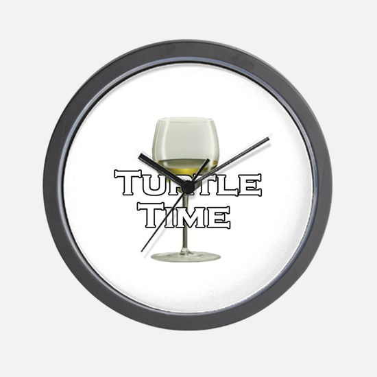 Turtle Time Wall Clock
