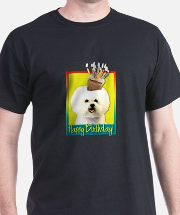 Birthday Cupcake - Bichon T-Shirt