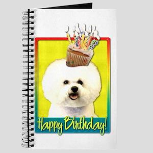 Birthday Cupcake - Bichon Journal