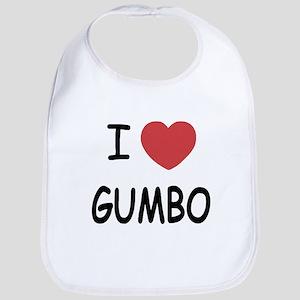 I heart gumbo Bib