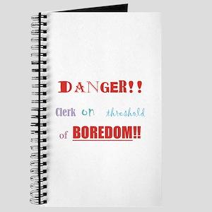 Danger! Boredom! Journal