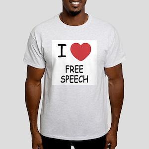 I heart free speech Light T-Shirt