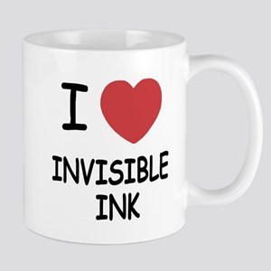 I heart invisible ink Mug
