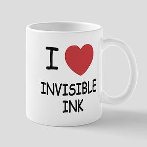 I heart invisible ink Mug