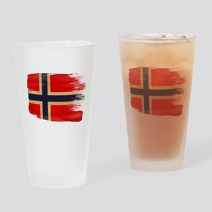 Norway Flag Drinking Glass