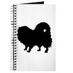 Pomeranian Silhouette Journal
