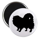 Pomeranian Silhouette Magnet
