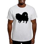Pomeranian Silhouette Light T-Shirt