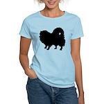 Pomeranian Silhouette Women's Light T-Shirt