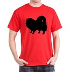 Pomeranian Silhouette Dark T-Shirt