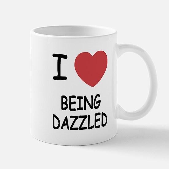 I heart being dazzled Mug