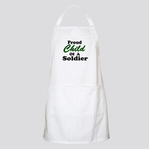 Proud Child of a Soldier BBQ Apron